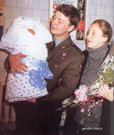 Герой Российской Федерации капитан Андрей Шевелев