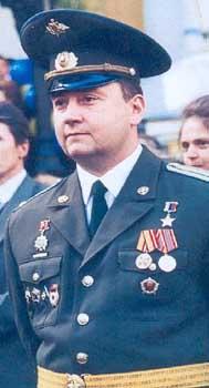 Герой Российской Федерации Андрей Шевелёв