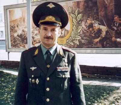 Герой Российской Федерации Сергей Тулин